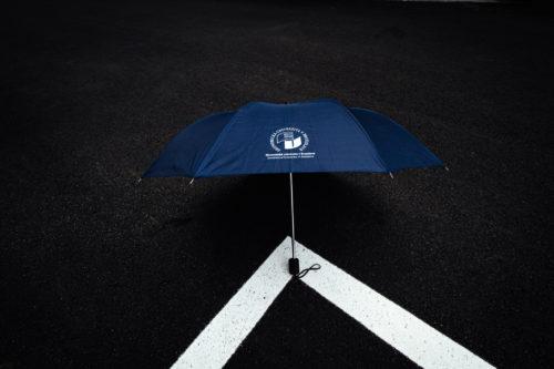 dáždnik malý modrý EUBA