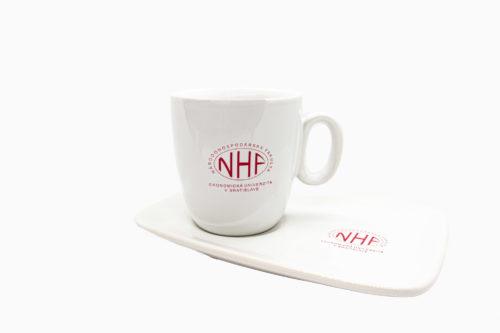 hrnček s podšálkou NHF