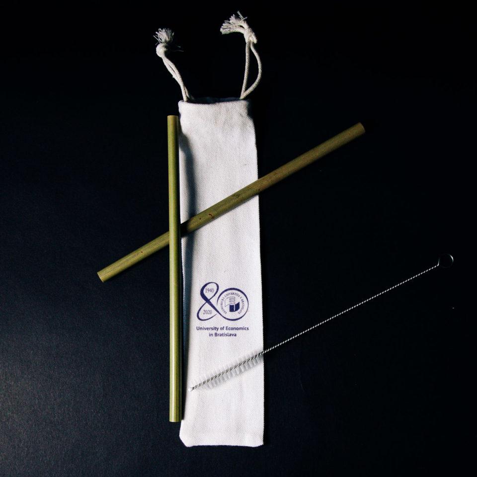 EKO Set slamiek z bambusu