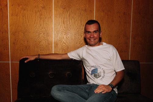 tričko pánske biele EUBA