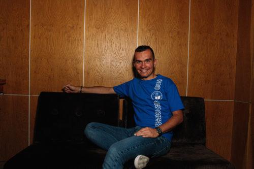 tričko unisex modré EUBA 2019