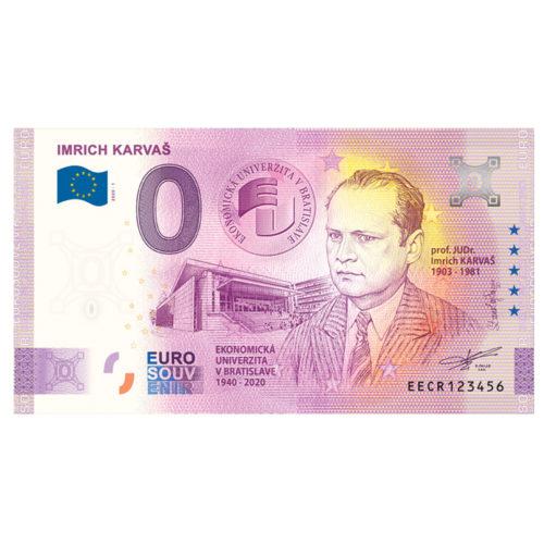 Nulová bankovka - Imrich Karvaš